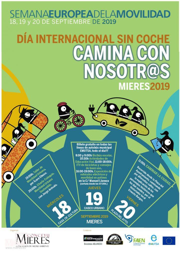 Cartel Web Dia Internacional Sin Coche 2019