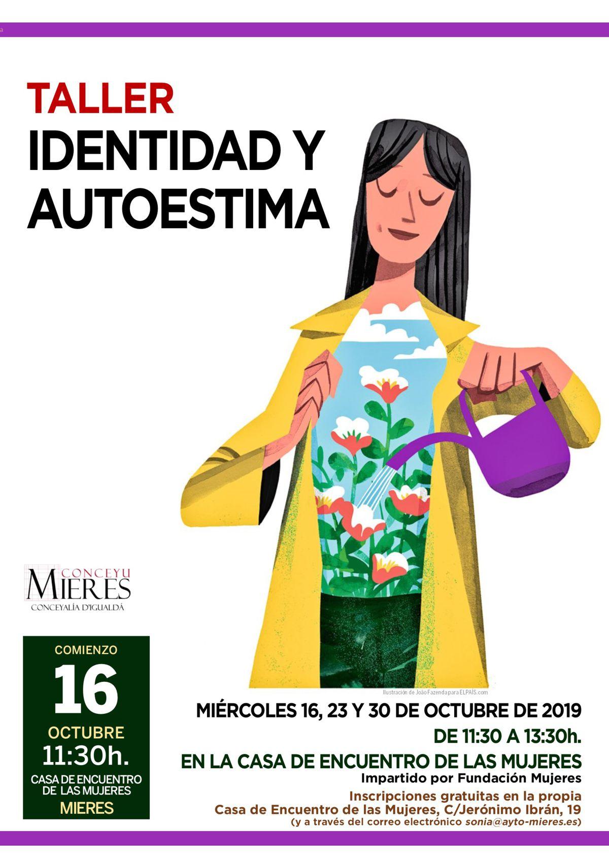 CARTEL Web Taller Identidad Autoestima Mujeres 2019