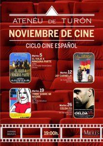 Cartel Web Ciclo Cine Turón 201911