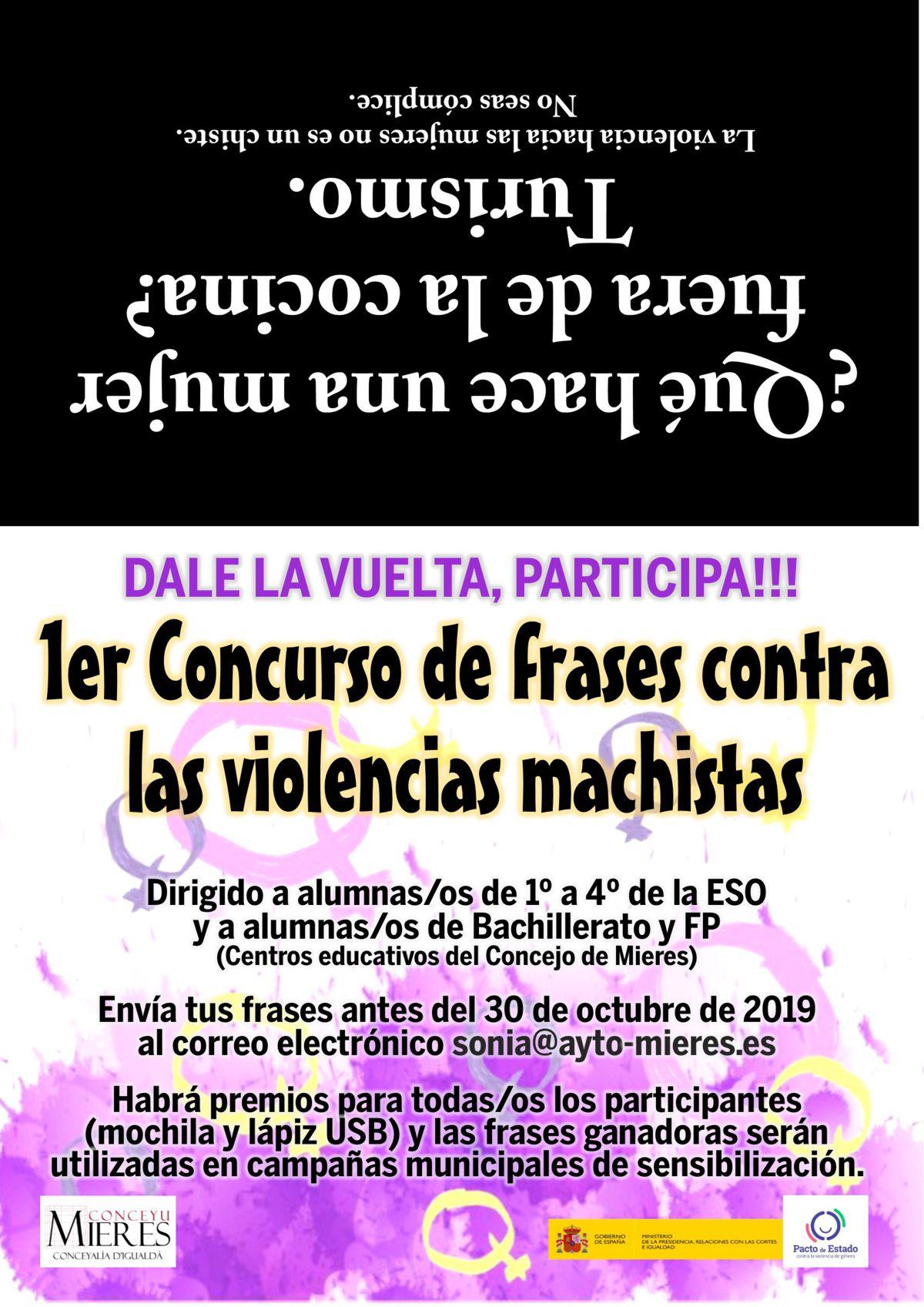 1er Concurso De Frases Contra Las Violencias Machistas