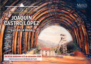 Cartel Web Exposicion Pictorica Joaquín Castro Turón 2019