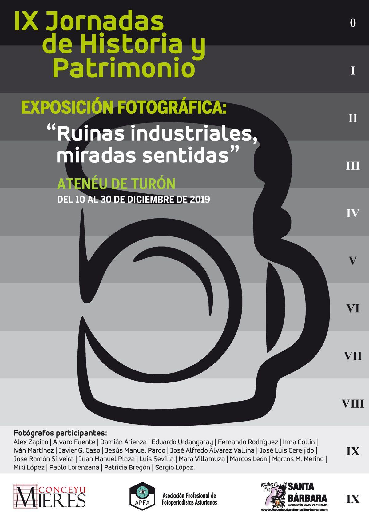 Cartel Web IX Jornadas Historia Y Patrimonio Cartel (Expo Fotografica)