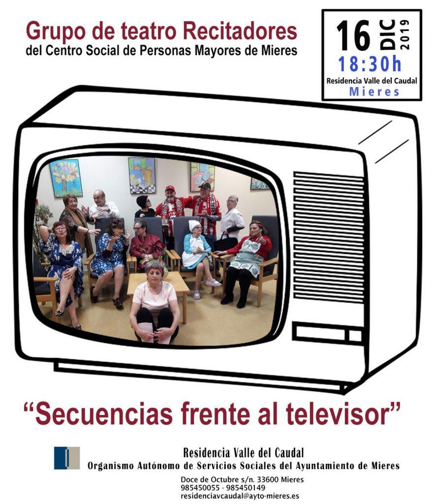 016 Cartel Teatro Secuencias Frente Al Televisor Para Web