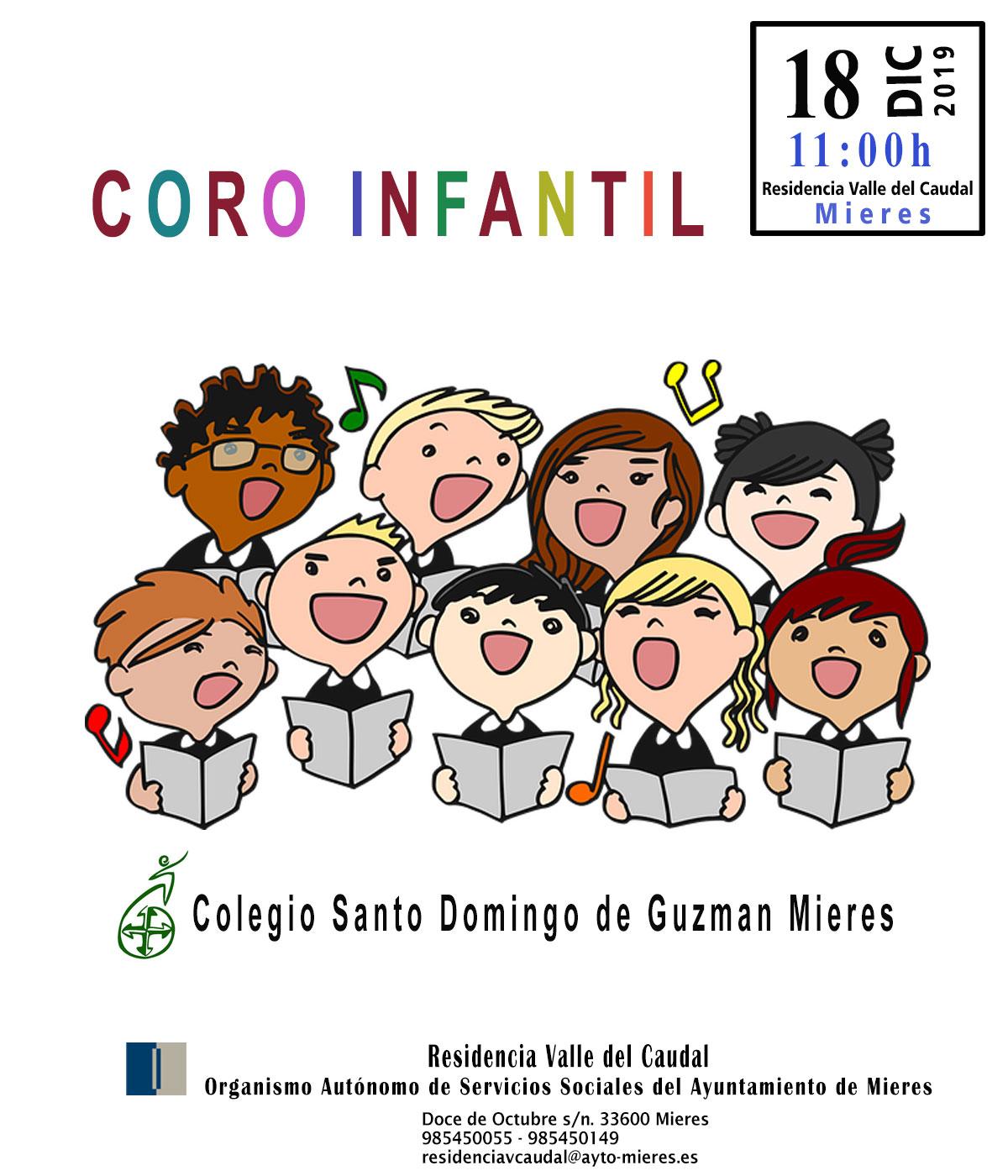 020 Cartel Coro Infantil Colegio Santo Domingo De Guzman Para Web