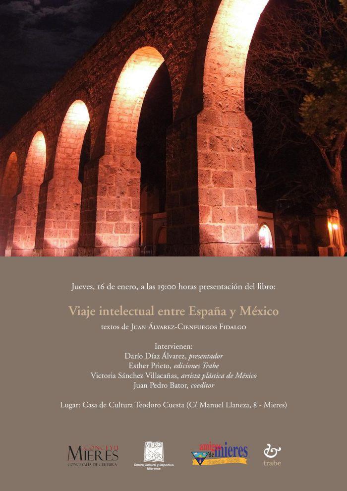 Cartel Web Viaje Intelectual España Mejico Presentacion