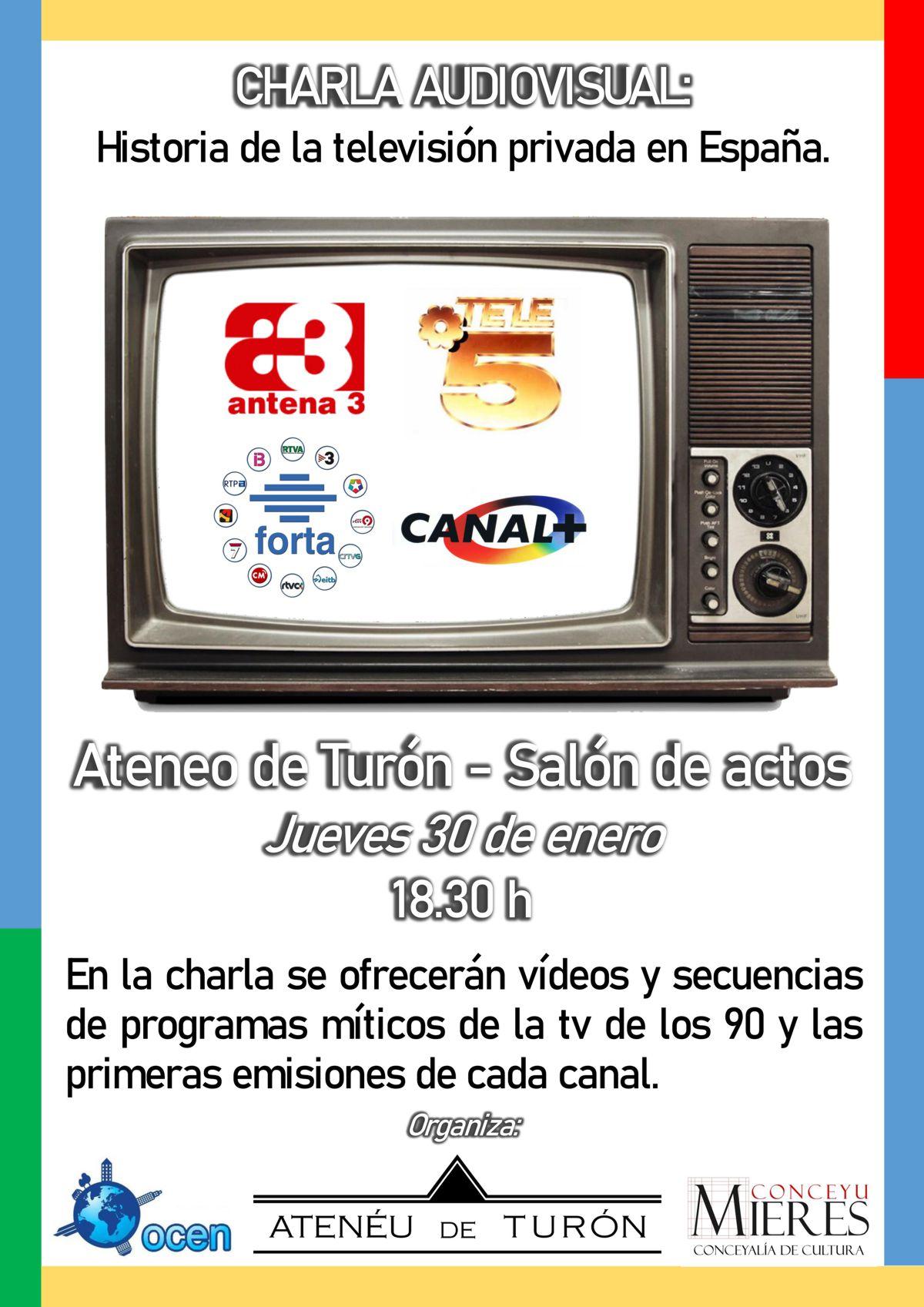 Charla Historia Television España Turon 2020