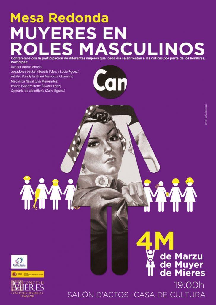 8M Muyeres En Roles Masculinos