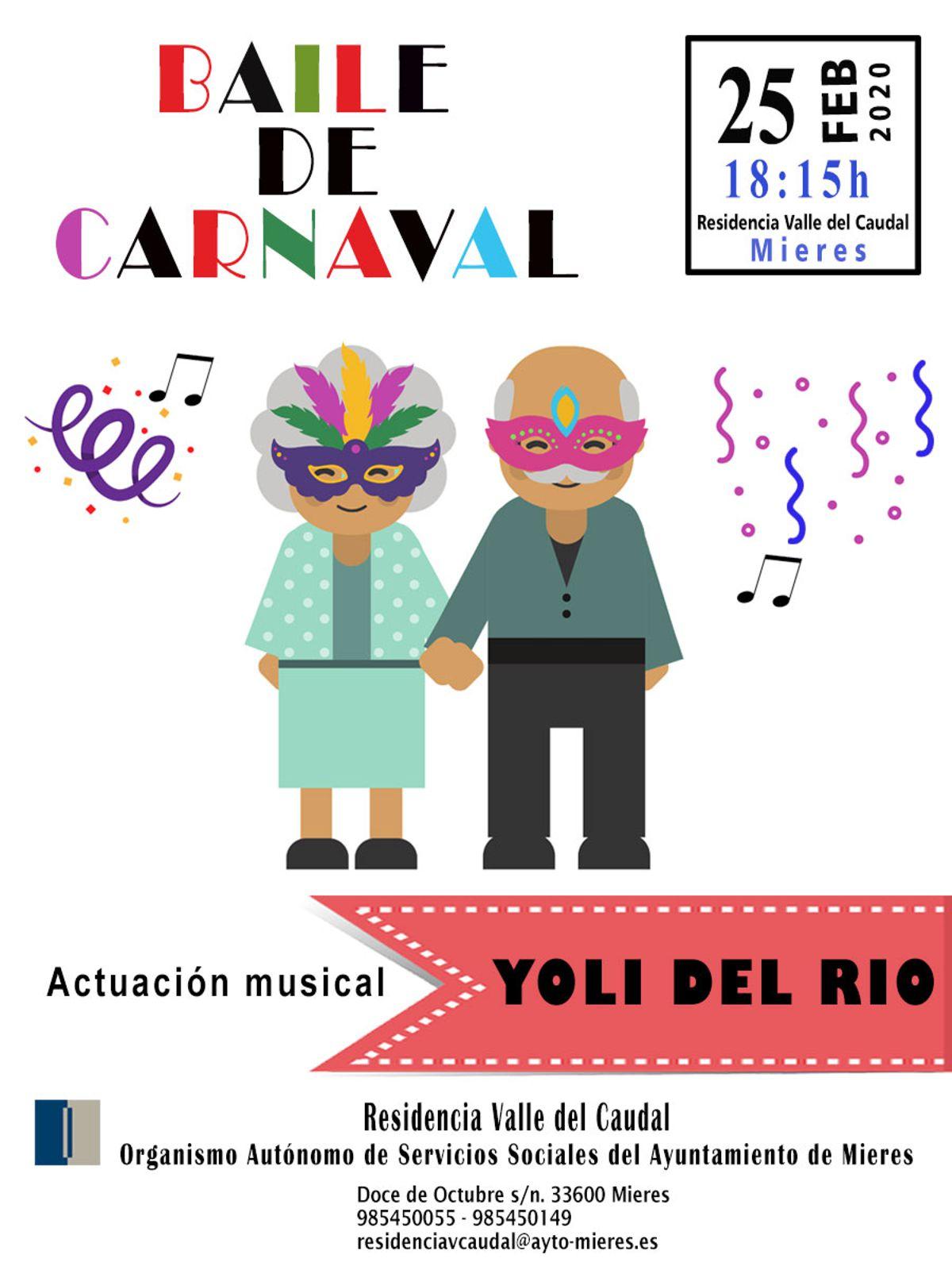 Cartel Baile De Carnaval 2020 Web