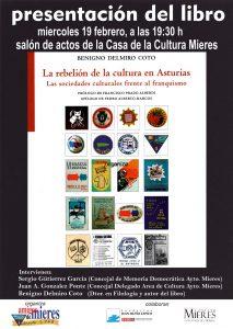Cartel Libro Delmiro Coto Cultura Asturias