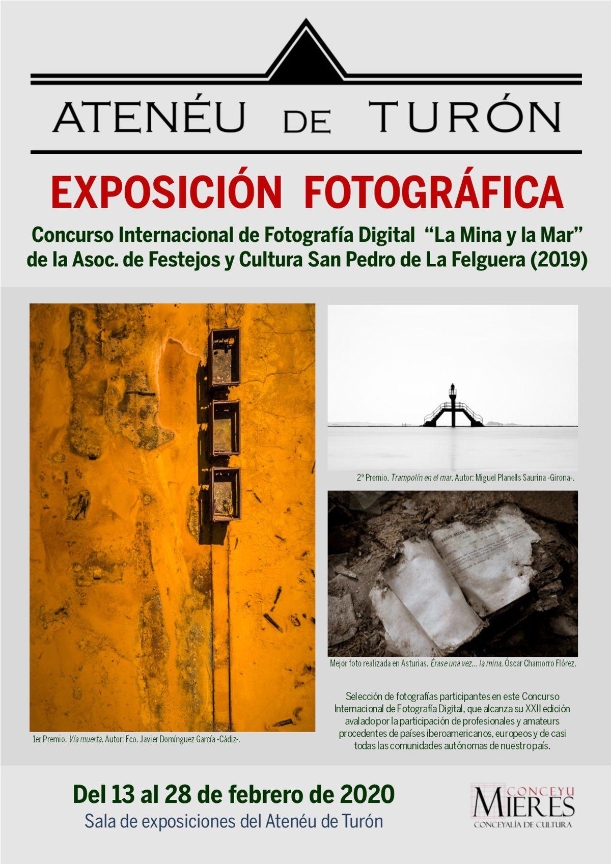 Cartel Web Exposición Concurso La Mina Y El Mar 2020