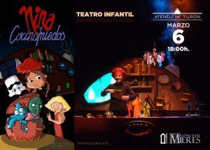 Cartel Web Teatro Nina Cocinamiedos Turon
