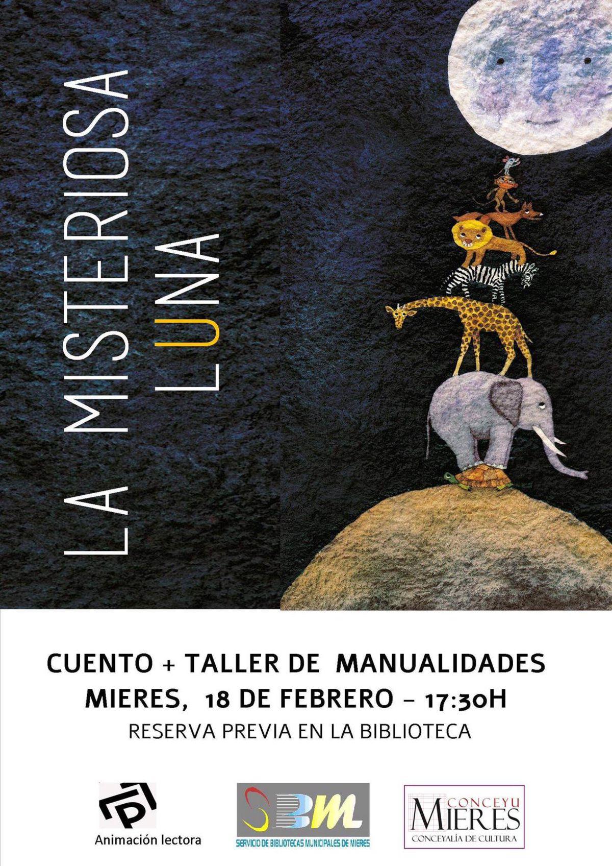 Taller Misteriosa Luna Bibliotecas Mieres