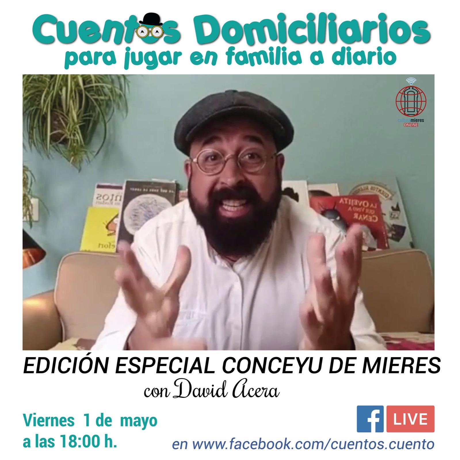 Cuentos Domiciliarios 1 Mayo 2020
