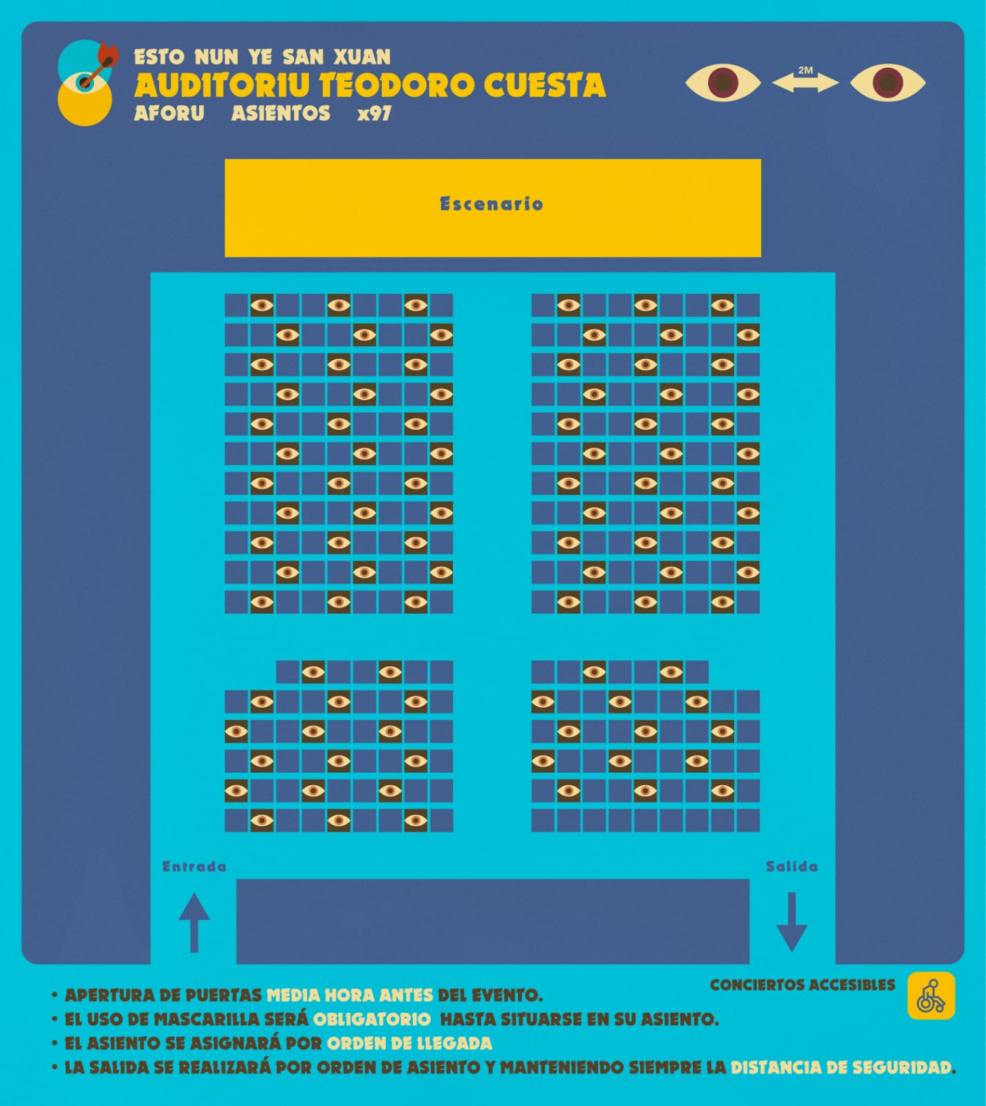 Escenario Auditoriu Teodoro Cuesta