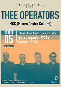 Concierto The Operators Mieres Web