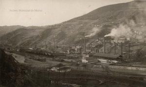 Instalaciones de Fábrica de Mieres (Foto Alonso, ca. 194?)