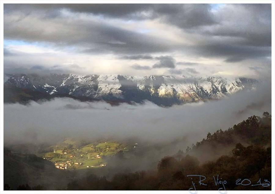 Vista de la zona alta de Ujo | José Ramón Viejo