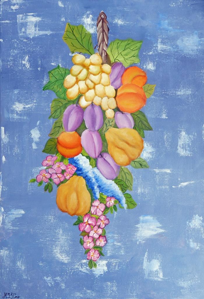 Racimo de frutos | Autor: Mª Jesús Suárez Coro