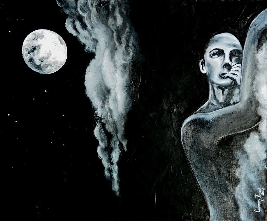 Soñando con la luna | Autor: Carmen Jurado Larios