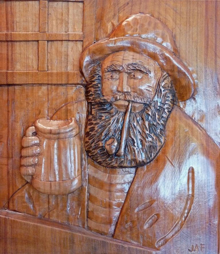 talla sobre madera | Autor: José A. Fdez Álvarez