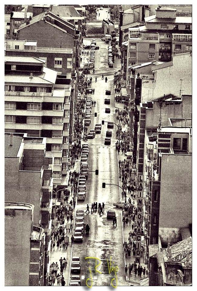 Vista de la calle Manuel Llaneza | José Ramón Viejo