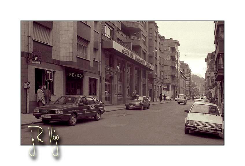 Antigua parada de taxis de la calle Jerónimo Ibrán | José Ramón Viejo