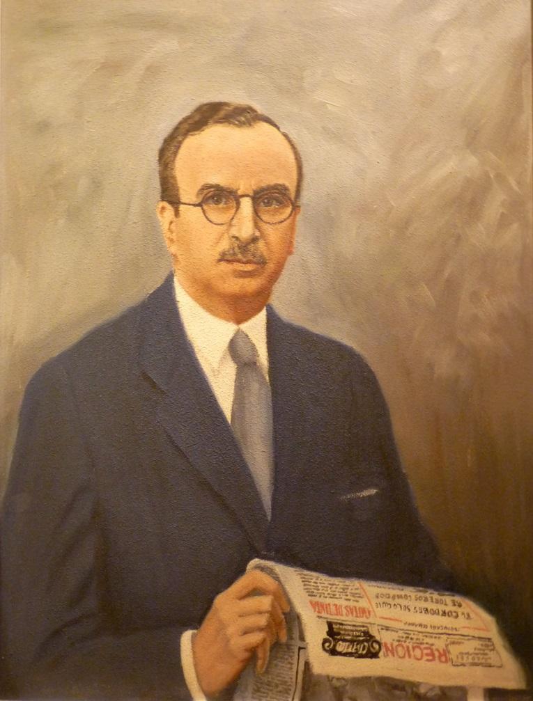 Retrato de D. Bernardo Aza Glez.-Escalada | Autor: J. Mª. Fernández Peláez