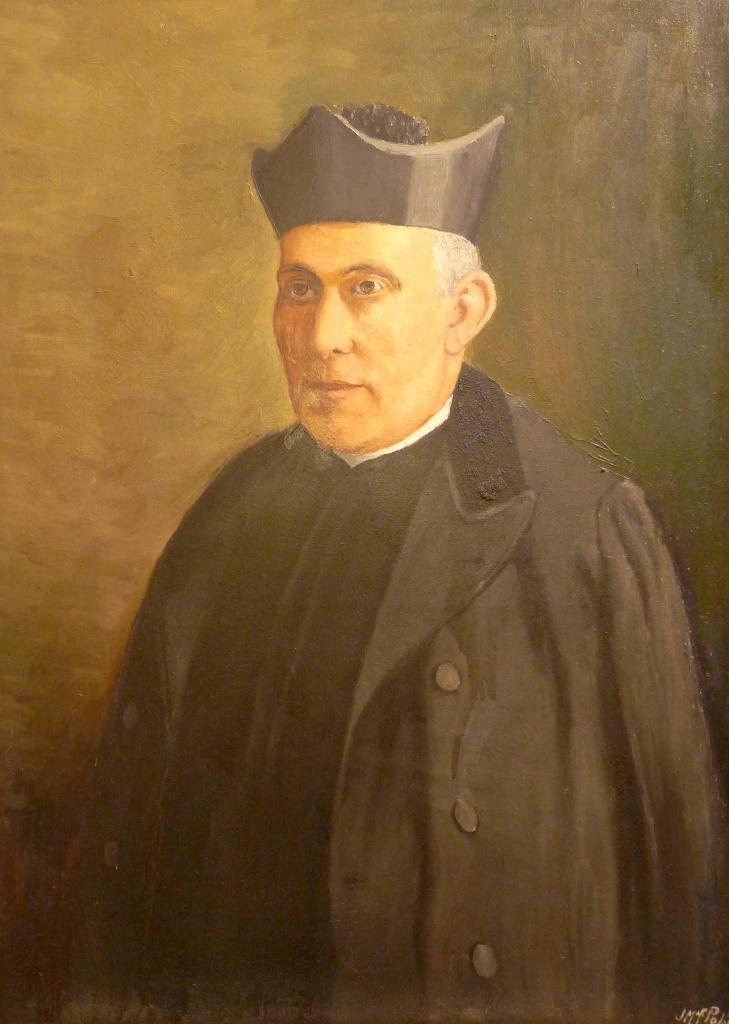 Retrato de D. Valeriano Miranda | Autor: J. Mª. Fernández Peláez