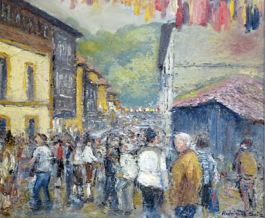 Escena del Mercáu Asturianu de Cenera | Autor: Fernando Rodríguez