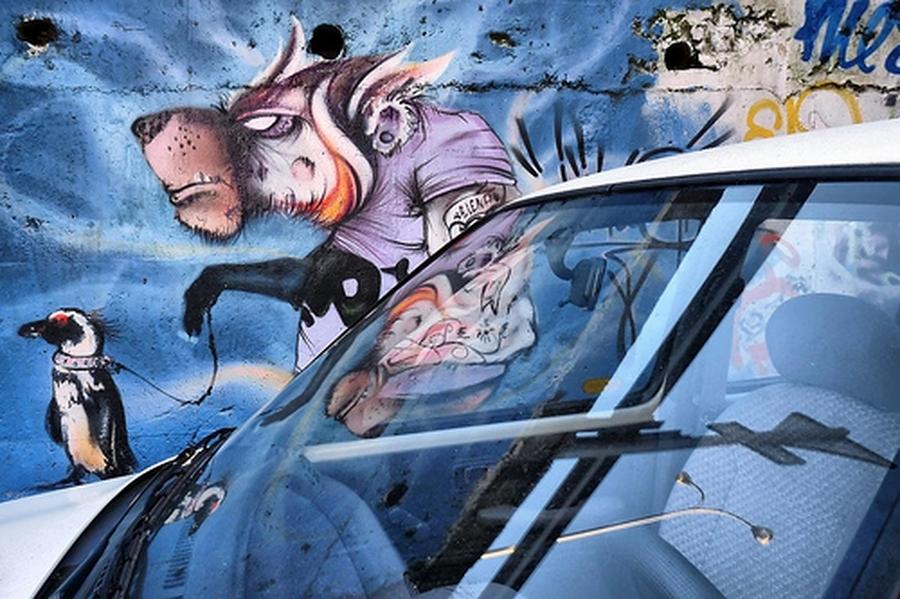 Grafitis, 3 | César Sampedro