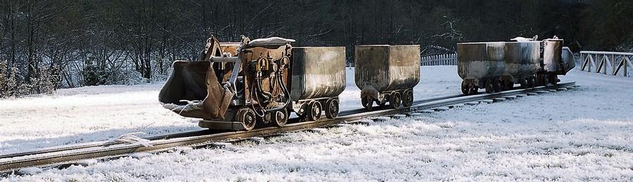 Máquines na senda Turón | José Luis Soto