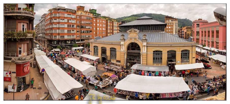 Domingo de mercado en la Plaza de Abastos | José Ramón Viejo