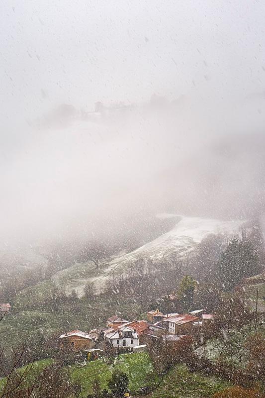 Nieve sobre Viesca | Carlos Salvo