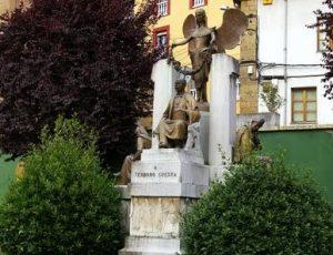 Vista General Monumento Teodoro Cuesta