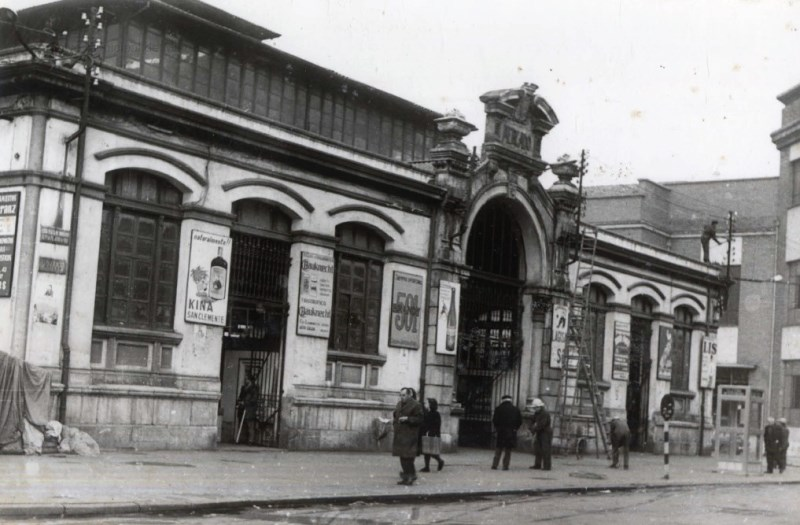 Fachada Mercado de Abastos (1972)