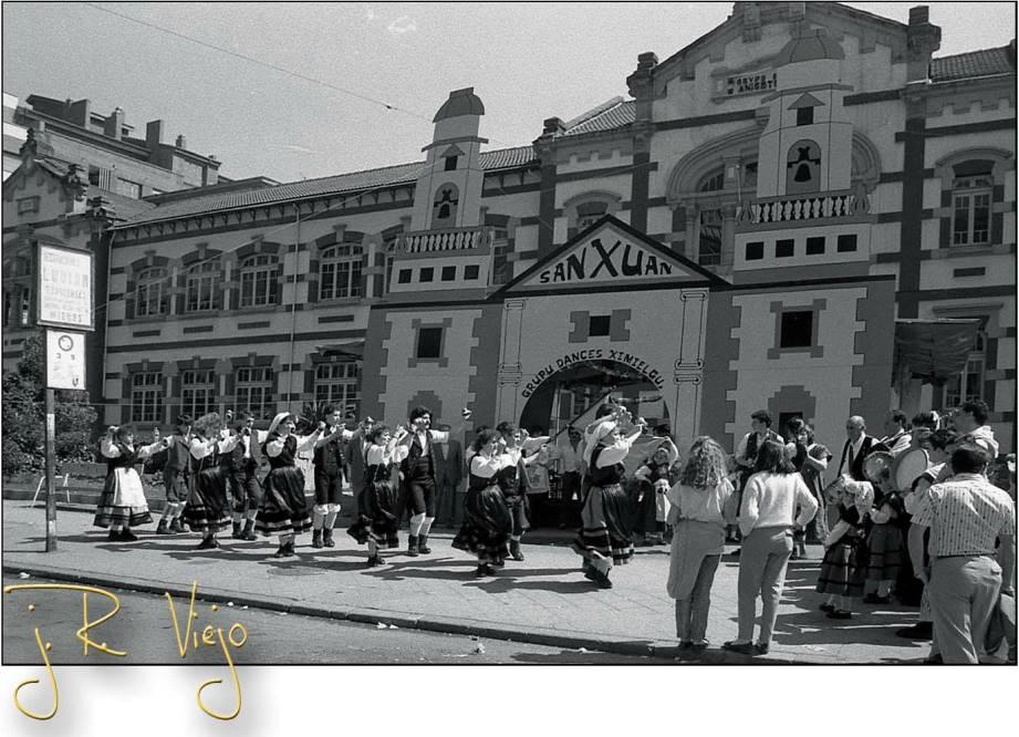 Actuación del Grupo Ximielgu en las Fiestas de San Juan  | José Ramón Viejo