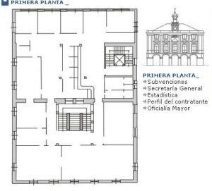 Primera planta Casa Consistorial