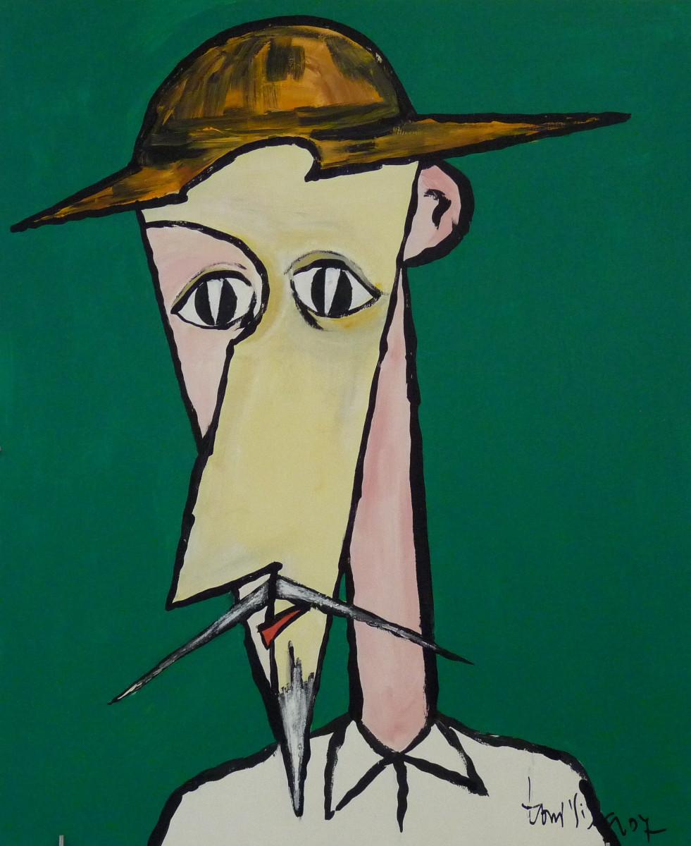 Don Quijote   Toni Vila (40cm x 60cm)