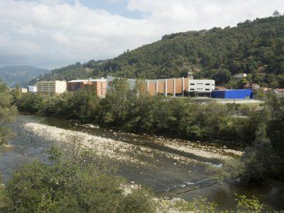 Santuyano desde la pasarela de renfe (Fot. J.Vazquez - AF Semeya).
