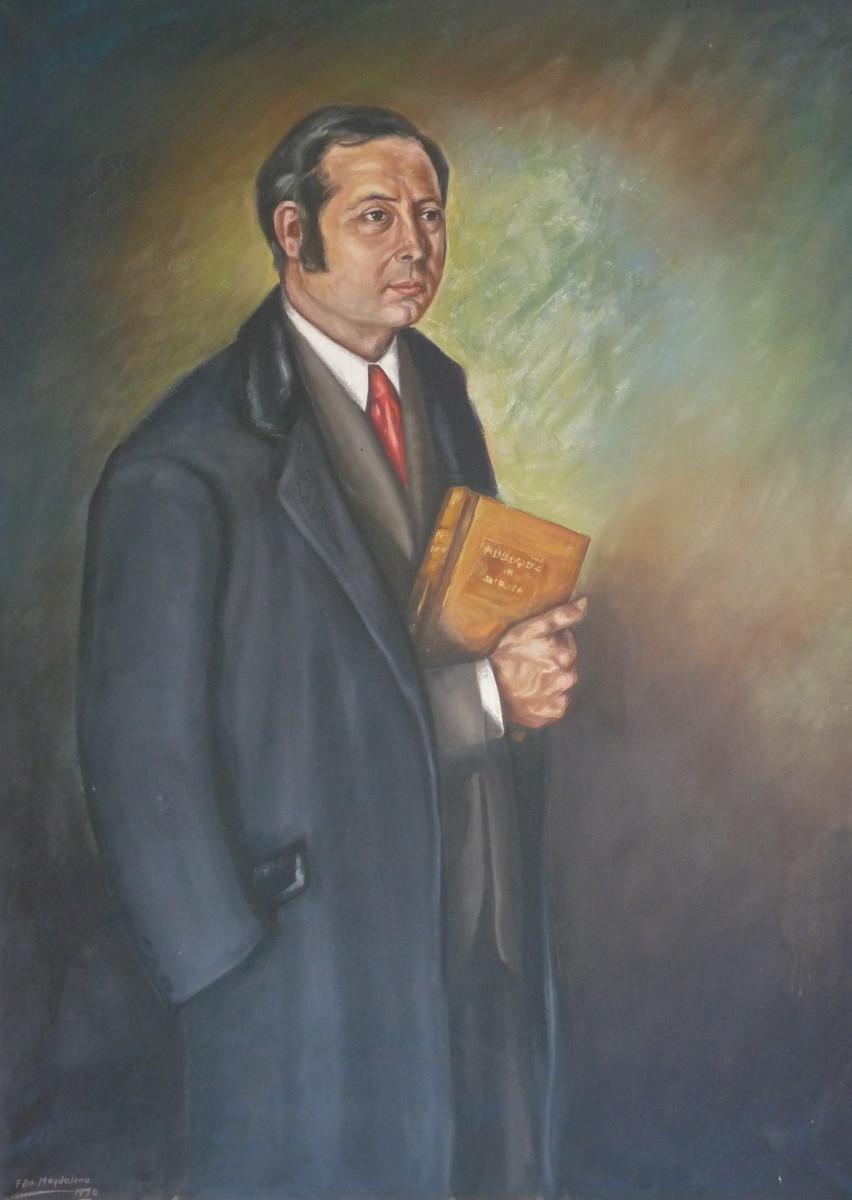 Victor Alper   J.M. Félix  Magdalena (95cm x 125cm)