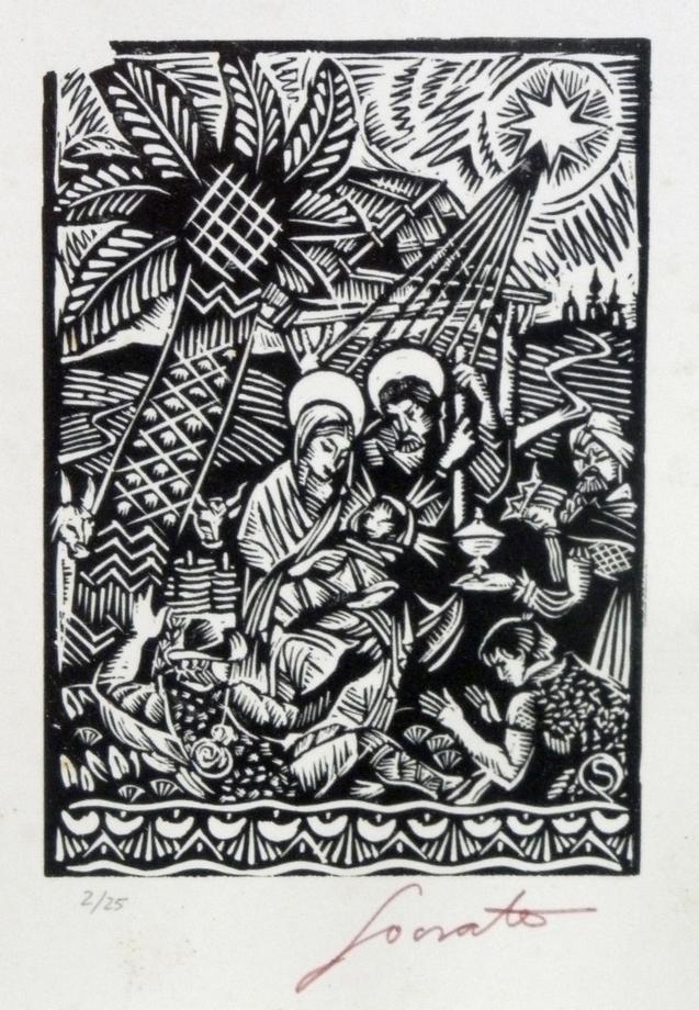 Autor: Sócrates Quintana (Xilografía 0,27x0,33)