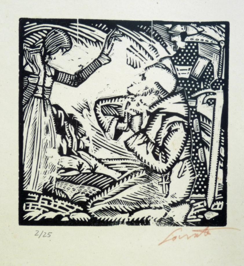 Autor: Sócrates Quintana (Xilografía 0,33x0,28)