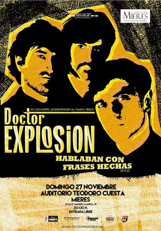 Concierto doctor explosion Mieres