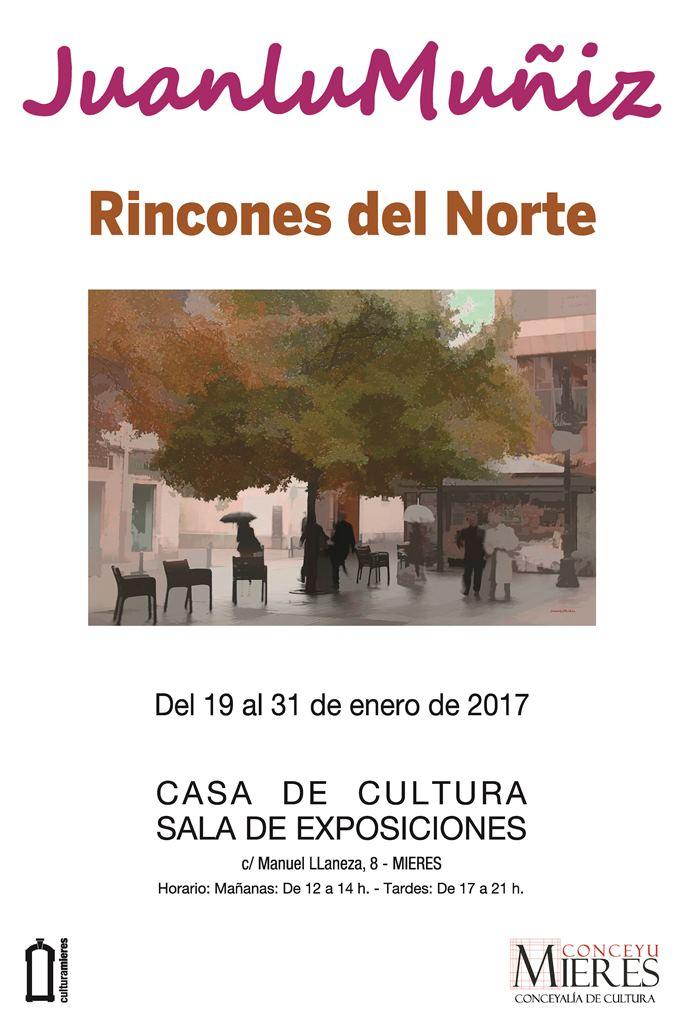 Cartel exposicion Juanlu Muñiz
