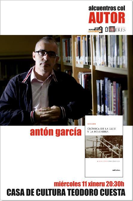 alcuentros col autor Anton Garcia