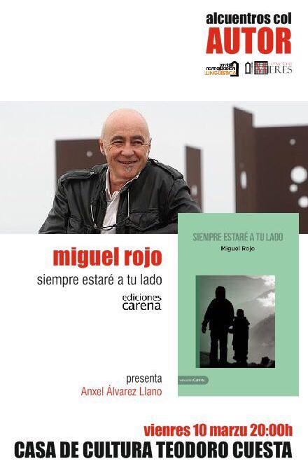 Alcuentros col autor-Miguel Rojo-marzo2017