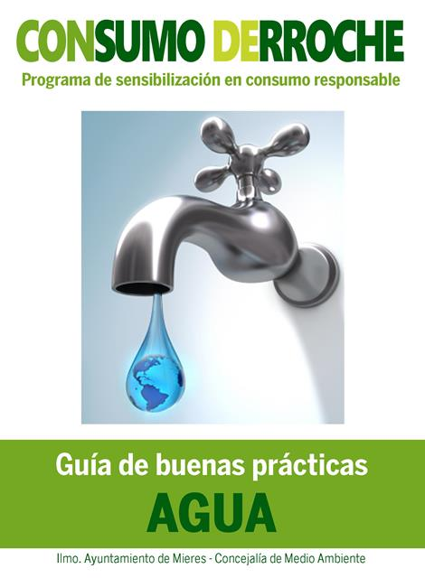 folleto consumo derroche Agua web