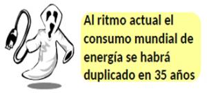 Foto Consumo mundial. Energía