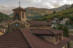 Campanario Iglesia de Santa Eulalia (Fot. Ana Belén Rodríguez - AF Semeya)
