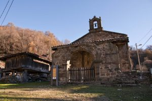 Capilla de San Xusto (Fot.: Jose Luis Soto).